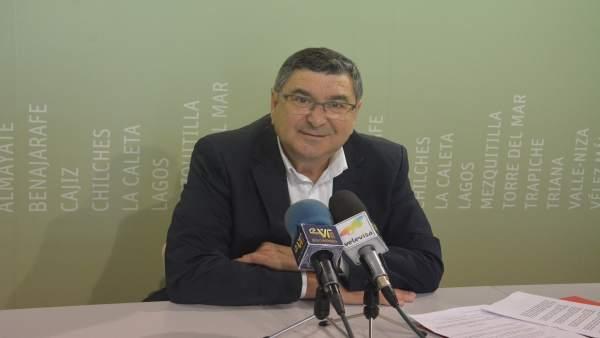 El alcalde de Vélez-Málaga Antonio Moreno Ferrer.