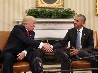 Obama y Trump