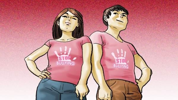 Cartel del programa 'Párate a pensar', de Aldeas Infantiles SOS