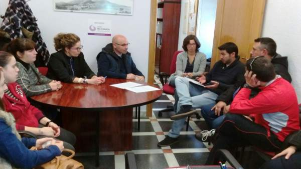 Reunión del AMPA del CEIP Muñoz Garnica con JeC