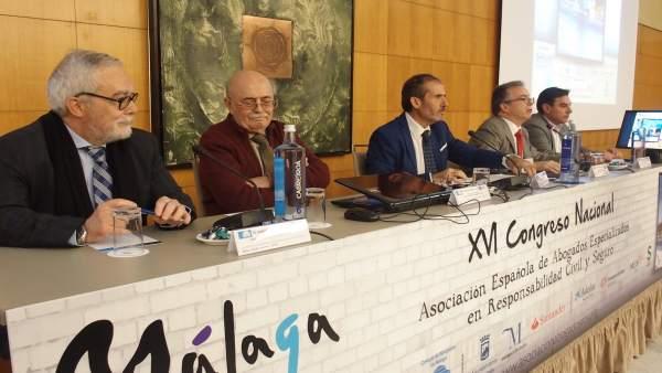 Congreso nacional abogados responsabilidad civil en Málaga