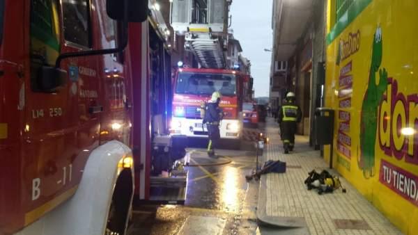 Incendio de una vivienda en Santoña