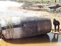 Objeto caído en Myanmar