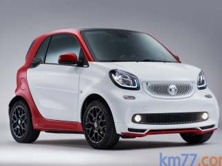 Smart fortwo coupé Ushuaïa Limited Edition 66 kW turbo twinamic