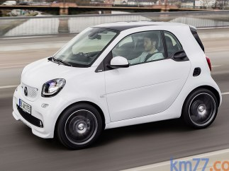 Smart BRABUS fortwo coupé 109 CV twinamic