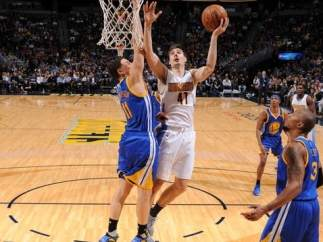 Juancho Hernangómez en el Denver Nuggets - Golden State Warriors