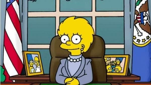 Lisa Simpson, presidenta de EE.UU.