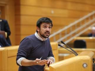 Ramón Espinar en el Senado