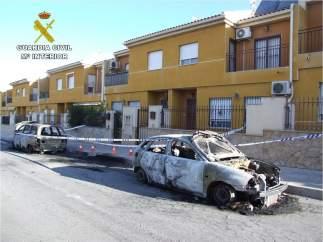 Coche quemado