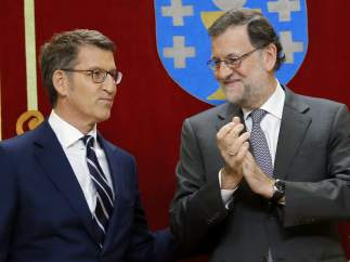 Feijóo promete su cargo al frente de la Xunta