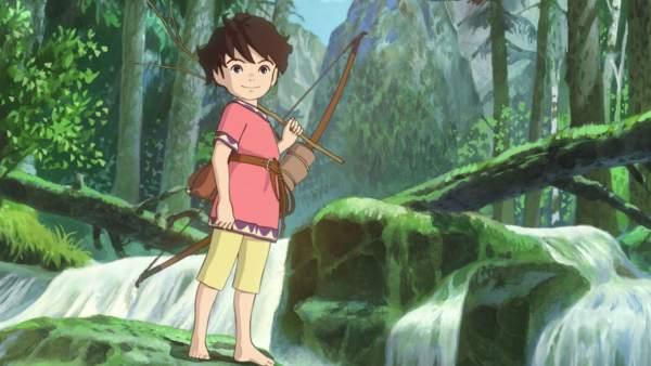 Imagen de la serie 'Ronja, la hija del bandolero', coproducida por Studio Ghibli