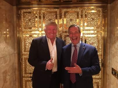 Trump y Farage