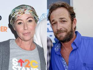 Shannen Doherty y Luke Perry