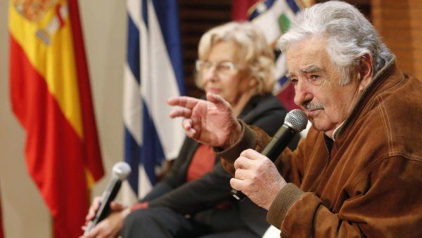 Mújica, de visita en Madrid