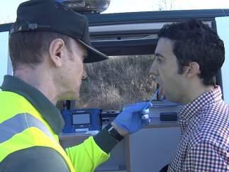 Test de drogas a un conductor