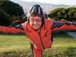 Abuela paracaidista