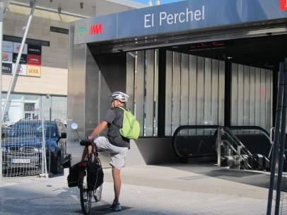 Metro, Suburbano, Ciclista, bicicleta, El Perchel, Intercambiador, vialia