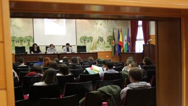 Inauguración de las VI Jornadas de Iniciación al Voluntariado de la UJA.