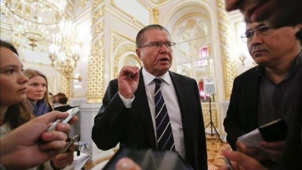 El ministro de Economía ruso, Alexéi Uliukáyev