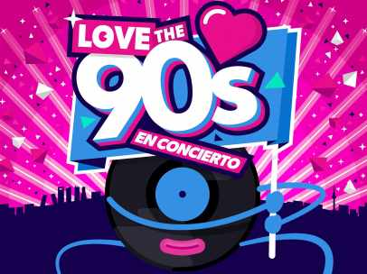 Cartel Love the 90´s
