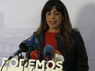 Teresa Rodríguez, coordinadora general de Podemos en Andalucía