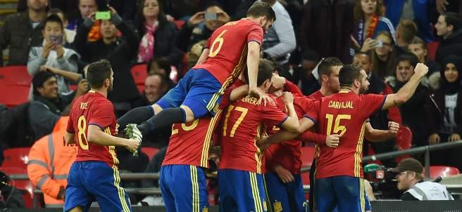 Gol de Isco con España