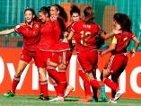 La selección femenina sub-20