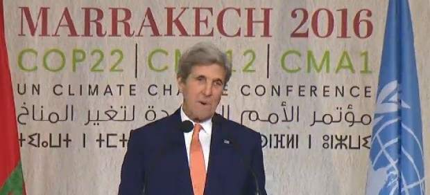 John Kerry, en Marrakech