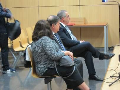 Olivas y Cotino, en la primera sesión del juicio
