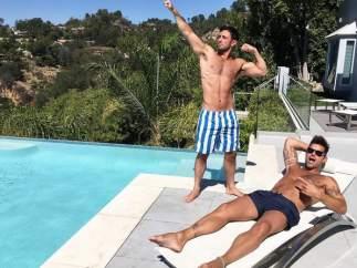 Ricky Martin se queda impresionado con el cuerpo de su novio