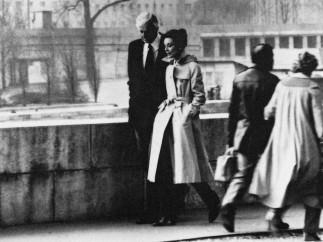 Audrey Hepburn and Hubert de Givenchy in Paris, 1982