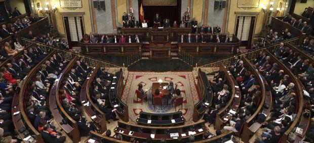 \Congreso abarrotado \