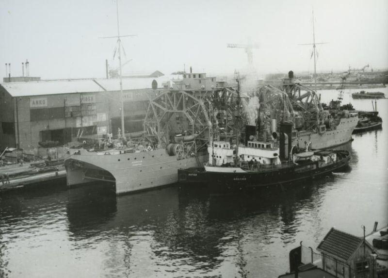 El Kommuna a mediados del siglo XX