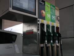 Un surtidor de gasolina