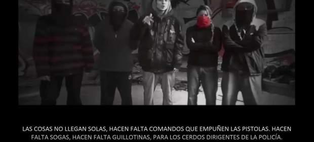 La AN confirma la condena a 12 raperos por enaltecimiento, pero les rebaja la pena porque ETA y el ...