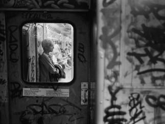 Richard Sandler - Woman in Next Car, NYC c. 1987