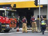 Incendio en un banco de Australia
