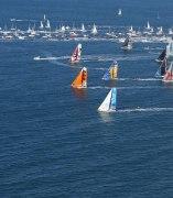 Salida de la regata Vendée Globe
