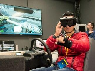 Realidad virtual para la conducción