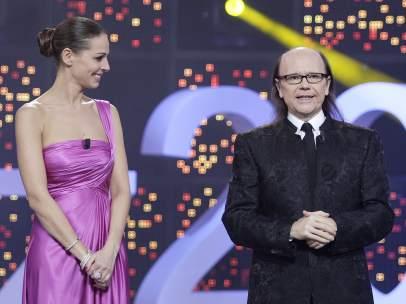 Eva González y Santiago Segura