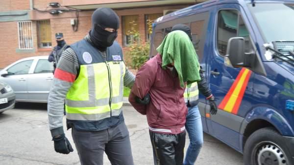 Detención de yihadistas