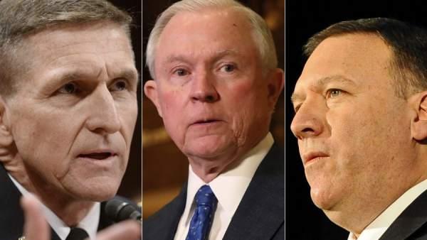 Los tres 'halcones' de Trump