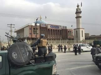 Mezquita en Kabul