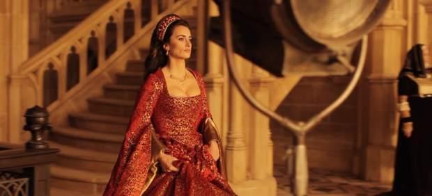 Penélope Cruz en 'La reina de España'.