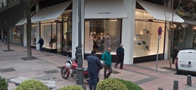 Tienda de Chanel en Madrid