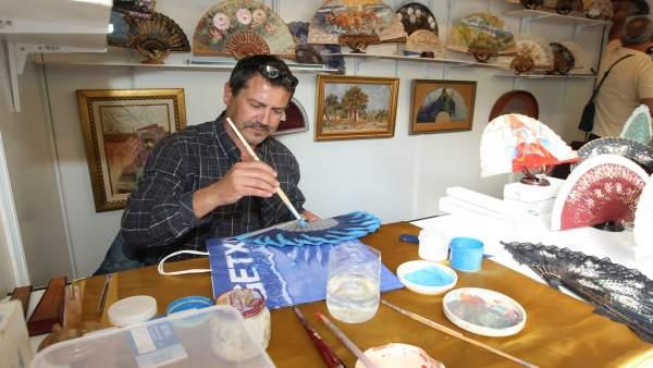 La Feria De Artesanía De Getxo Reúne Este Fin De Semana A 80