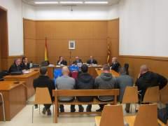 Juicio a tres antifascistas por intentar matar a un ucraniano en Gràcia.