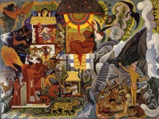 Diego Rivera - Pre-Columbian America (América prehispánica), 1950