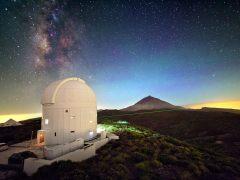 La Palma 'se apaga' para presumir de cielo estrellado