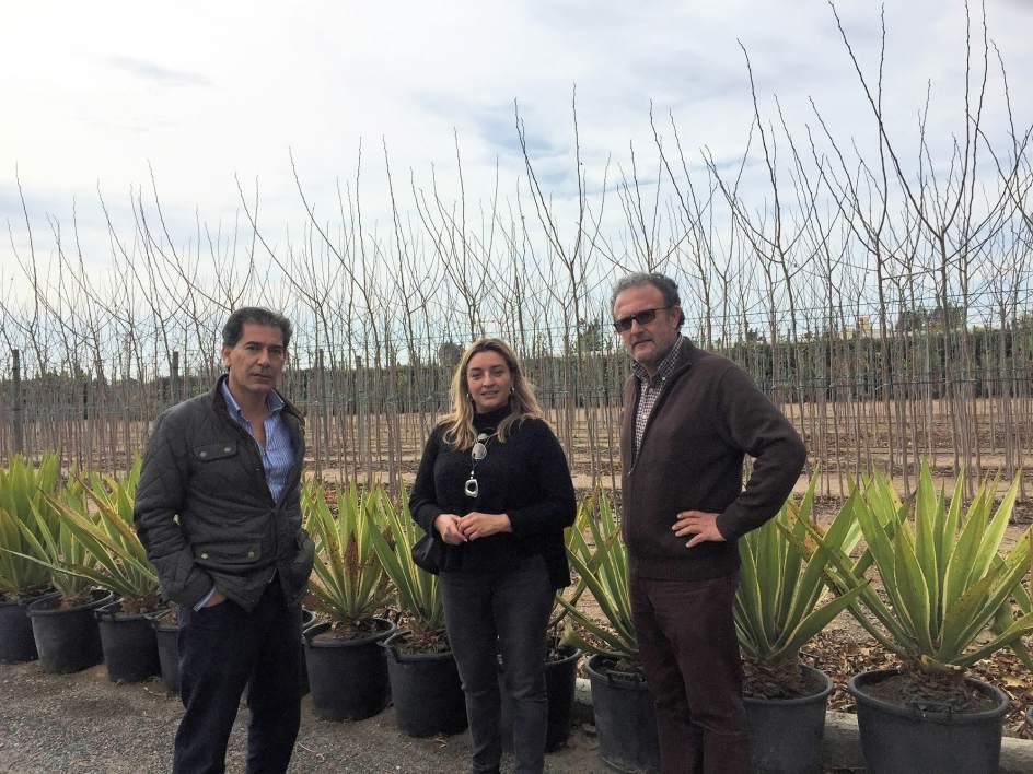El vivero provincial producir plantas y rboles for Centro de salud ciudad jardin almeria